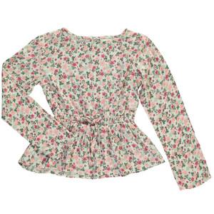 Mädchen Schlupfbluse im floralen Print