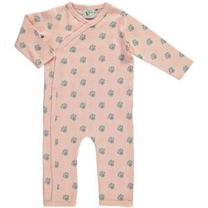 Baby Mädchen Pyjama mit Tatzenprint