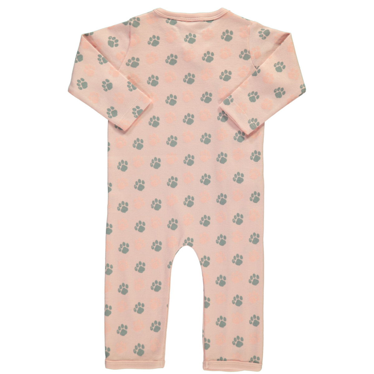 Bild 2 von Baby Mädchen Pyjama mit Tatzenprint