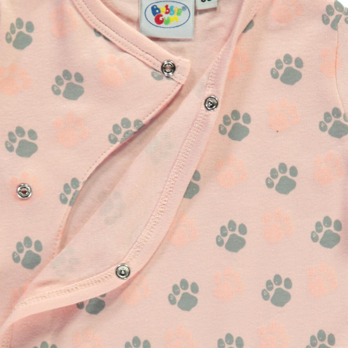 Bild 3 von Baby Mädchen Pyjama mit Tatzenprint
