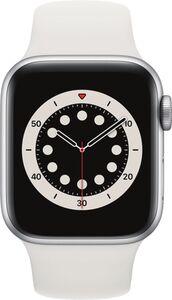 Apple Watch Series 6 GPS, 40mm Alu weisses Armband - Regular