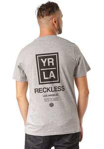 Young and Reckless Oblong - T-Shirt für Herren - Grau
