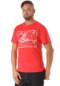Young and Reckless Signature Splatter - T-Shirt für Herren - Rot