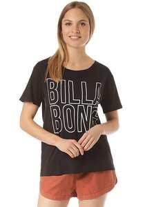 BILLABONG Legacy Boyfriend - T-Shirt für Damen - Schwarz