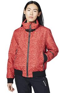Chiemsee All-Over-Print - Skijacke für Damen - Rot