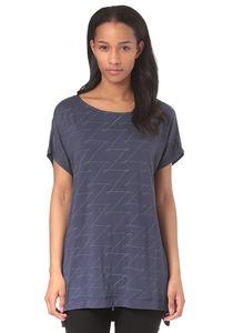 Zimtstern Zerpentin - T-Shirt für Damen - Blau