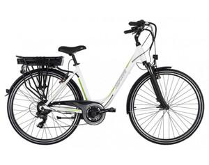 Adore Pedelec E-Bike Cityfahrrad 28'' Adore Versailles weiß-grün