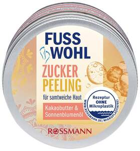 Fusswohl Zuckerpeeling