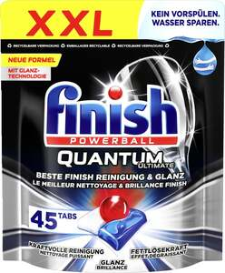 Finish Quantum Ultimate Spülmaschinentabs, XXL-Pack