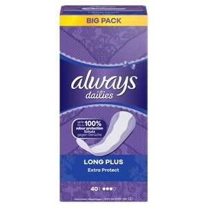 Always dailies Extra Protect Slipeinlagen Long Plus Big Pack