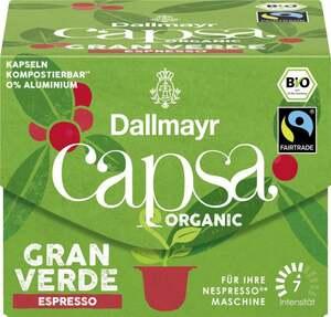 Dallmayr Bio capsa Gran Verde Espresso Kaffeekapseln