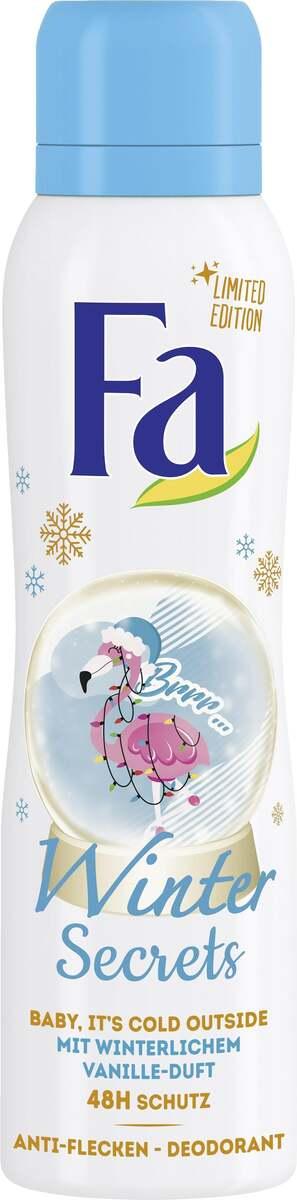 Bild 1 von Fa Deodorant Spray Winter Secrets Baby, it´s cold Outside