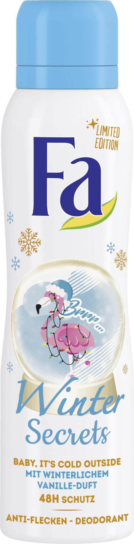 Fa Deodorant Spray Winter Secrets Baby, it´s cold Outside