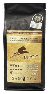 Samocca Premium-Kreation aus fünf spezialitätenkaffees Espresso