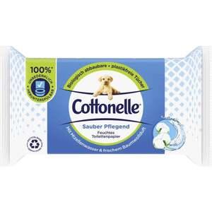 Cottonelle Cottonelle Feucht Sauber Pflegend Nachfüller mit Mizellenwasser & Baumwollduft, Beutel à 42 Tüche