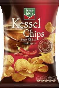 funny-frisch Kessel Chips Sweet Chili & Red Pepper