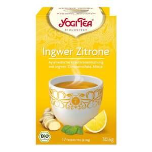 Yogi Tea Bio Ingwer Zitrone Tee