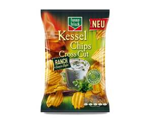 funny-frisch Kessel Chips Cross Cut Ranch Sauce Style