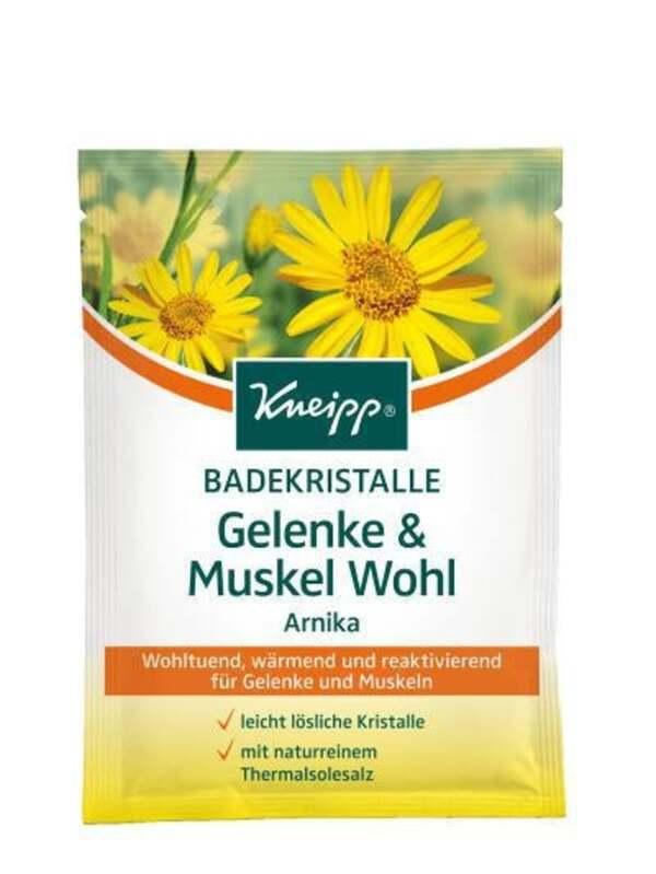Kneipp Badekristalle Gelenke und Muskel Wohl