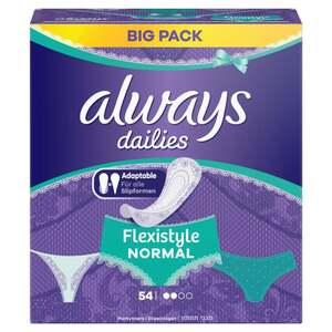 Always Fresh & Protect Flexistyle Slipeinlagen Normal Fresh