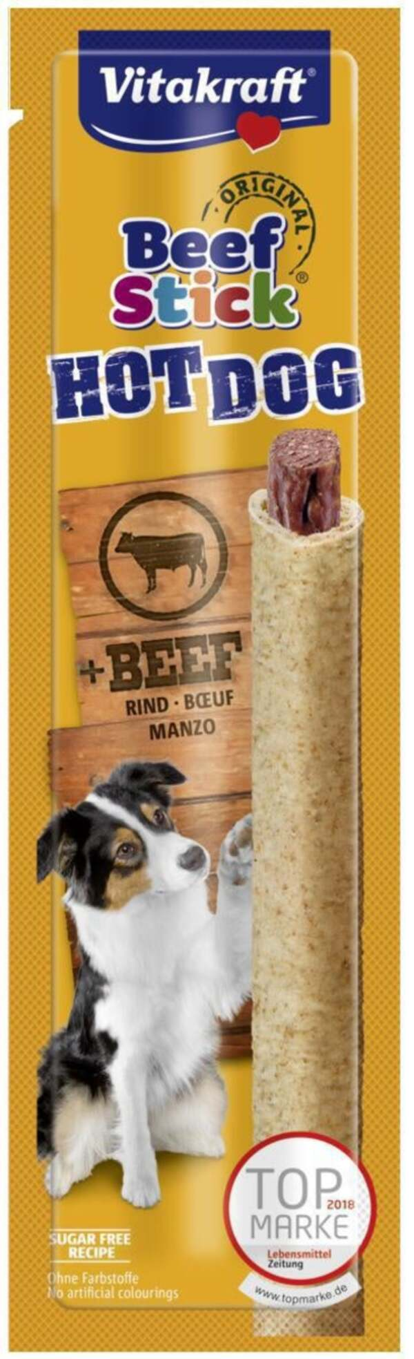 Vitakraft Beef Stick® HOT DOG + Rind