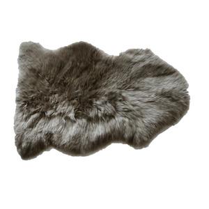 Schaf-Fell taupe 85 x 55 cm