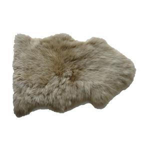 Schaf-Fell beige 85 x 55 cm