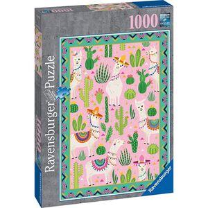 Ravensburger 1000 Teile Puzzle - Süße Alpakas