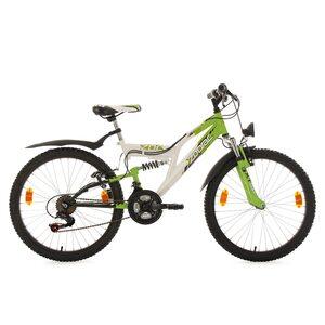 KS Cycling Kinderfahrrad Zodiac 24 Zoll für Jungen, Größe: 38, Weiß