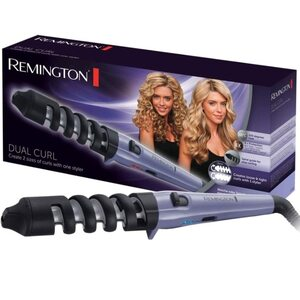 Remington Dual Curl 2in1 Lockenstab CI63EI Lockenwickler Locken-Styler Stab 200°, Lila