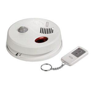 Xavax Deckenalarm Bewegungs-Sensor mit Fernbedienung, Weiß