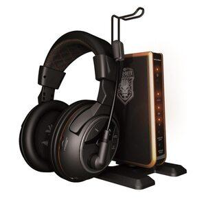 Turtle Beach Tango Gaming Headset Wireless 5.1 Surround Sound WLAN Kopfhörer, Schwarz