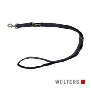Wolters Führleine Professional Comfort Graphit/Schwarz 10mm