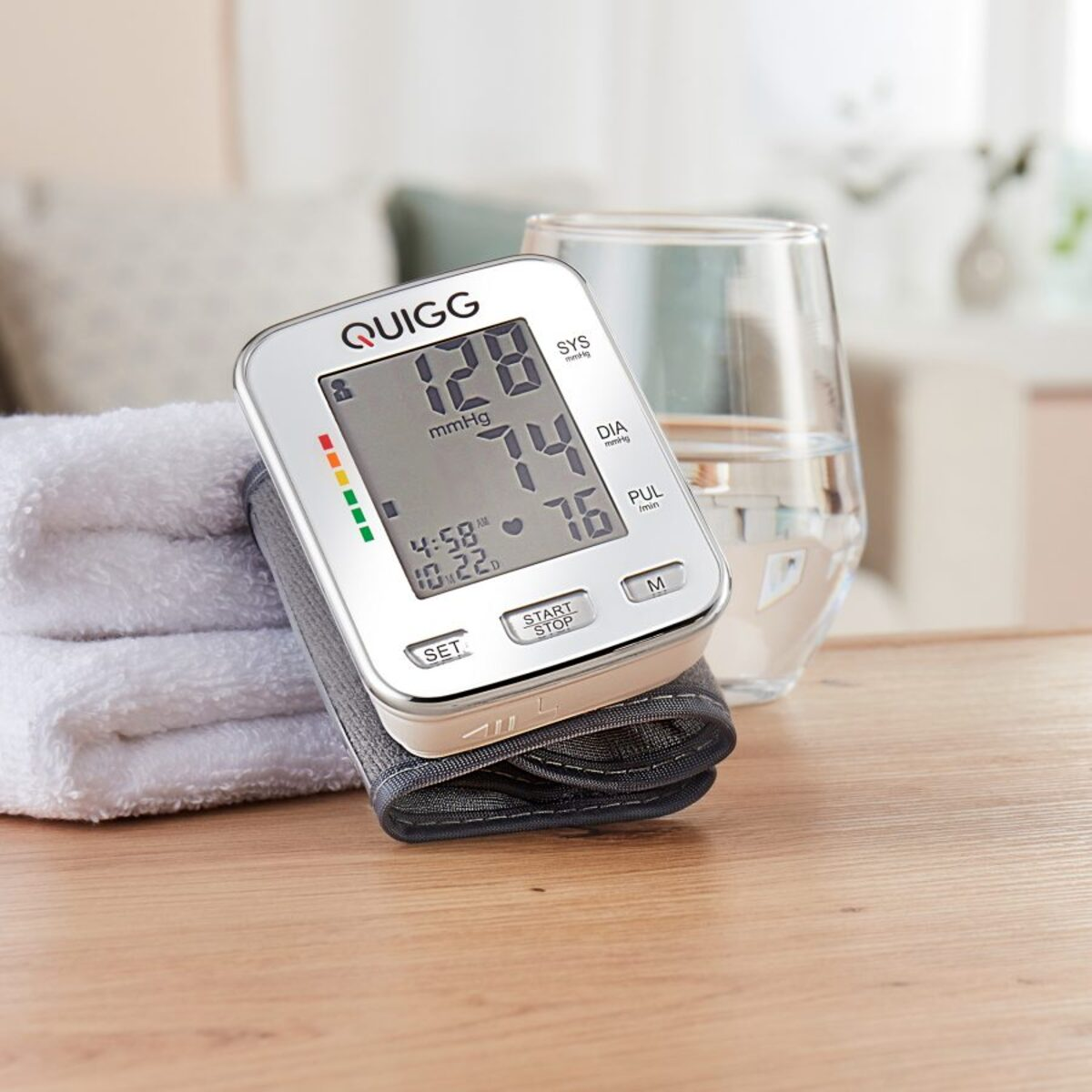 Bild 2 von QUIGG     Handgelenk-Blutdruckmessgerät BDU 751