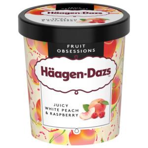 Häagen-Dazs Juicy White Peach & Raspberry 460g
