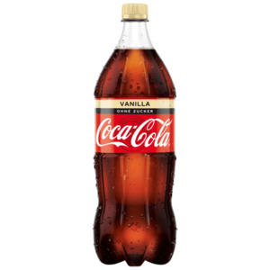 Coca Cola Vanilla Zero Sugar 1,5l