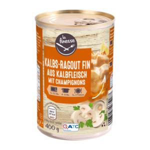 LA FINESSE     Kalbs-Ragout fin