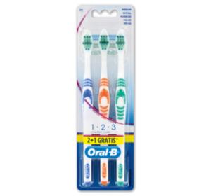 ORAL-B Zahnbürste Classic care 35 mittel