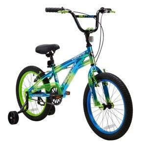 18 Zoll BMX Chrome blau grün