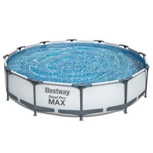 Best Way Metal Frame Pool mit Pumpe