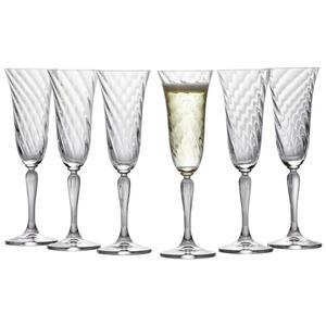 Leonardo Sektglas-set 6-teilig , 020763 , Klar , Glas , 185 ml , 0.185 cm , 0038130437