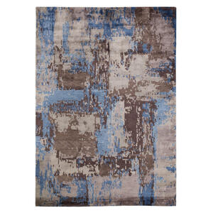 Musterring Orientteppich 200/300 cm blau, braun, beige , Angeles Palung , Textil , 200x300 cm , in verschiedenen Größen erhältlich , 005893000272