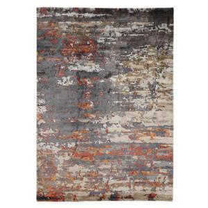 Musterring Orientteppich 250/350 cm grau, orange, beige , Angeles Pilano , Textil , 250x350 cm , in verschiedenen Größen erhältlich , 005893015277