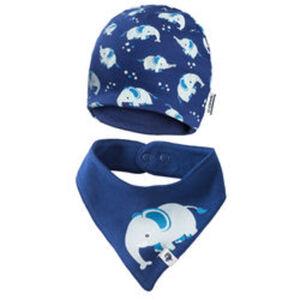 Newborn-Set Mütze + Halstuch