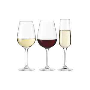 Leonardo Gläserset , 020978 , Glas , 38.3x24.3x26.2 cm , klar , 003813232401