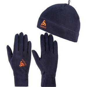 Odlo MICROFLEECE Set Mütze und Handschuhe