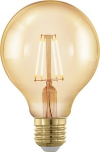 Eglo Led Globelampe Vintage ,  E 27 - 4 W, Filament
