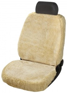 Walser Autositzbezug Monette 1 teilig Zipp-It, beige