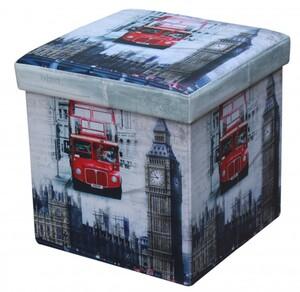 TrendLine Sitzhocker London 38 x 38 x 38 cm (L x B x H)