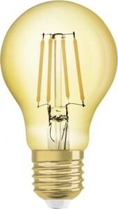 Osram LED Leuchtmittel Vintage 1906 Birnenform, E27 - 4 W
